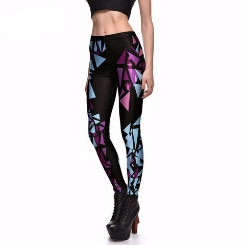 Dark Geometric Leggings