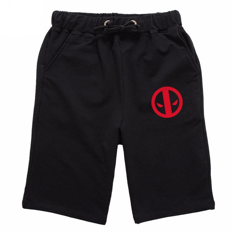 Deadpool Casual Drawstring Shorts