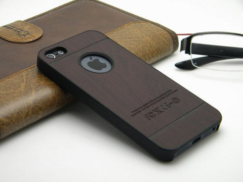 Hand Cut Vintage Wood iPhone Case