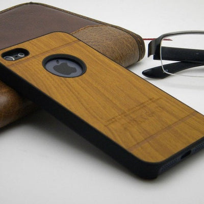 Hand Cut Vintage Wood iPhone Case - magilook deep cleansing masks
