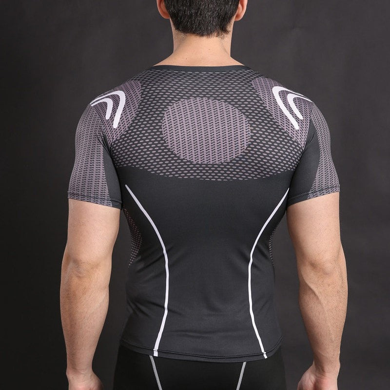 Iron Man Under Suit Compression Shirt