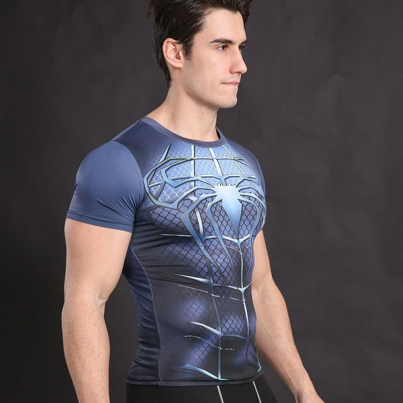 Spiderman 3 Vibrant Compression Shirt
