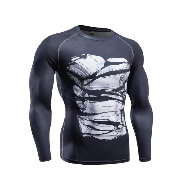Alter Ego Long Sleeve Super Hero Shirts - magilook deep cleansing masks