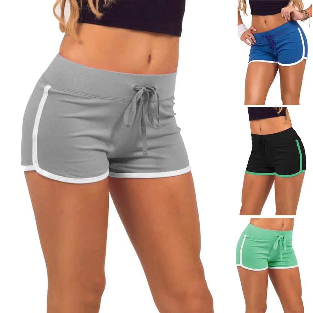 High-Waist Training Shorts