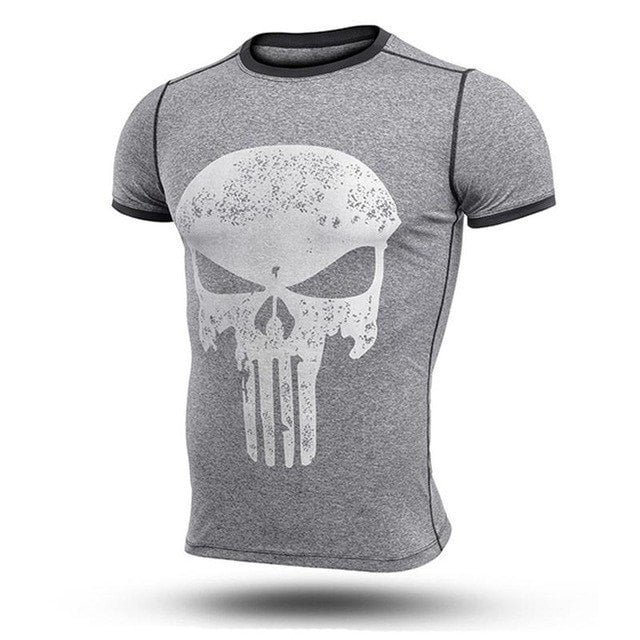 Punisher Heathered Fitted Shirt