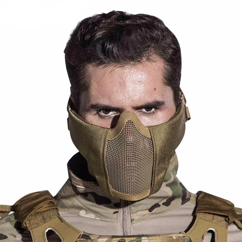 Airsoft Lower Face Mask