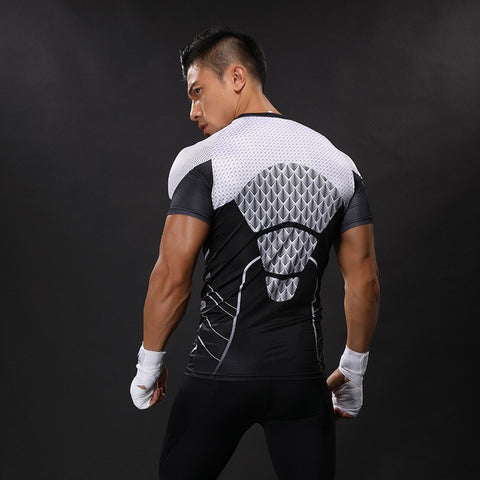 Future Iron Man Compression Shirt