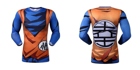 Goku Warrior Armor 3 Long Sleeve Armor Shirt