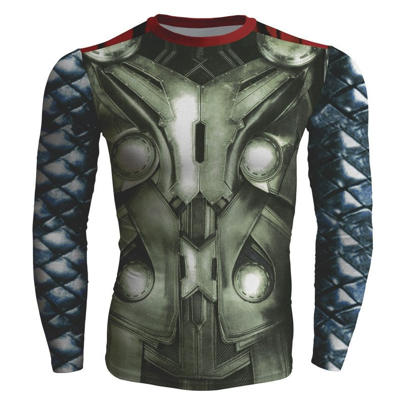 Thor of Asgard Graphic Compression Shirt