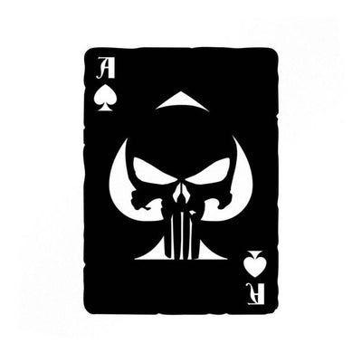 Punisher Ace Of Spades Vinyl Sticker - magilook deep cleansing masks