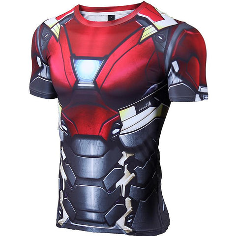 Iron Man Mark XLVII Compression Shirt