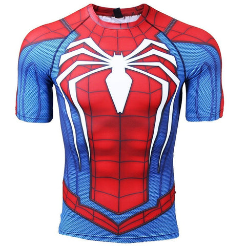 RWB Spider-man Compression Shirt