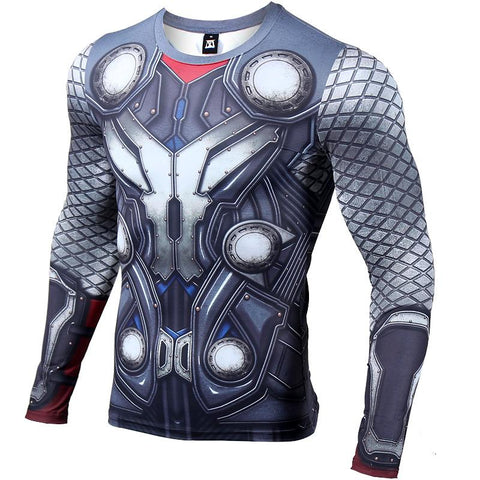 Thor Long Sleeve Compression Shirt