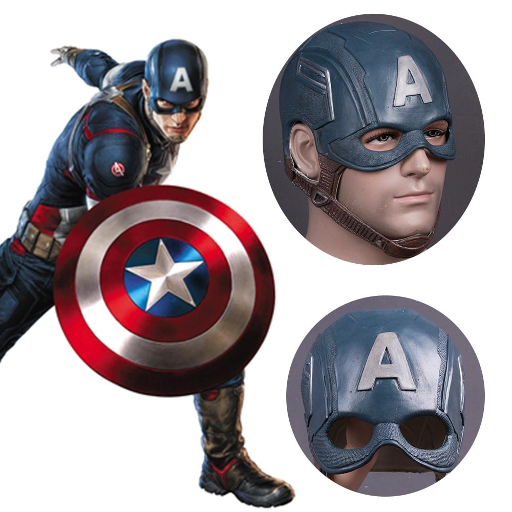 Captain America Cosplay Mask