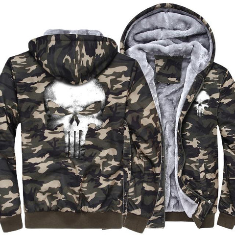 Punisher Army Hoodie