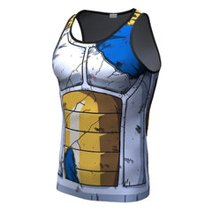 Vegeta Tank Battle Torn Armor