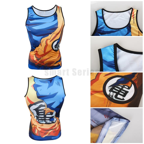 Goku Tank Battle Torn Armor
