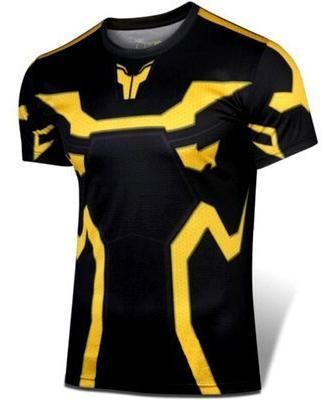 ANT-MAN Yellow Jacket Short Sleeve Compression Shirt