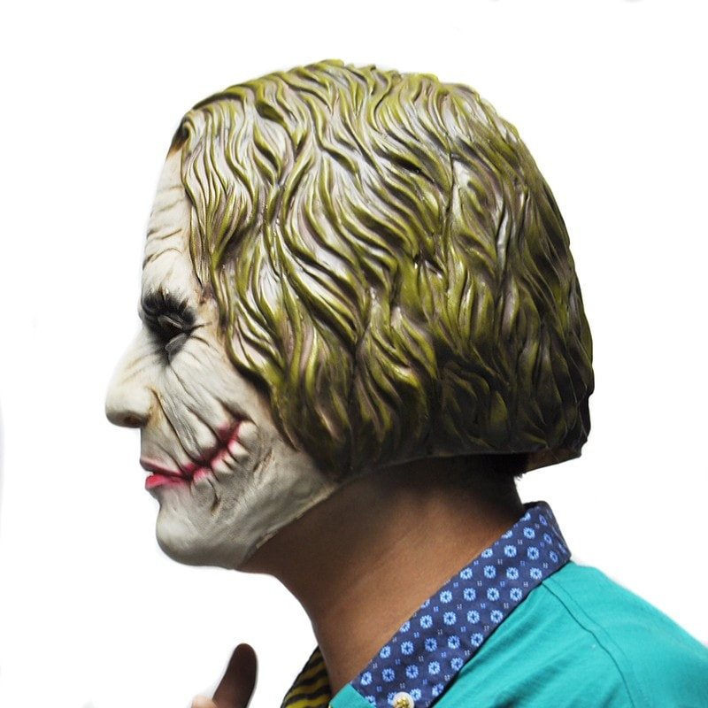 Joker Heath Ledger Mask