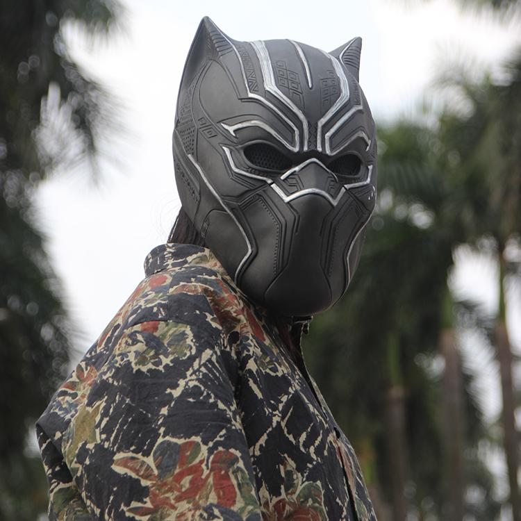 Black Panther Cosplay Mask 1