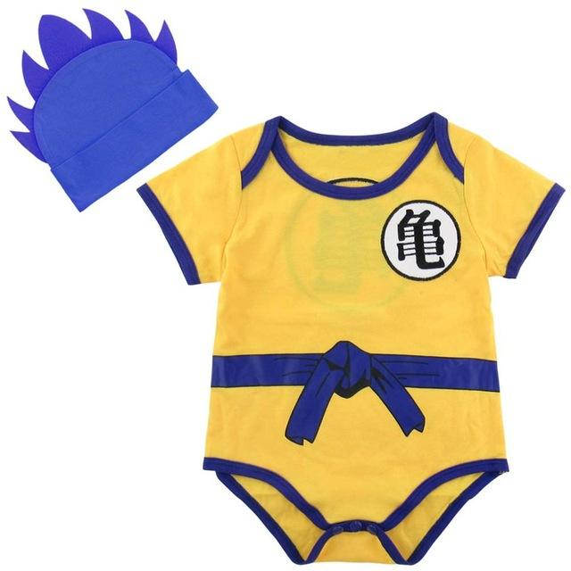 Baby Goku Bodysuit With Blue Top