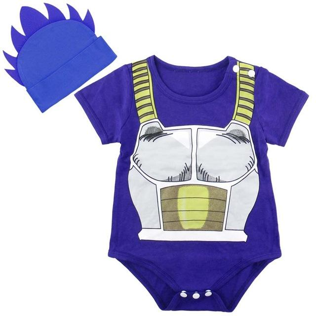 Baby Vegeta Bodysuit With Blue Top