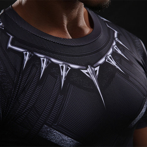Black Panther Compression Shirt - Novelty Force