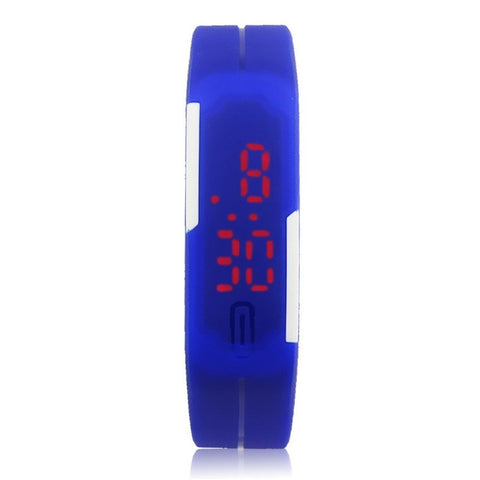 Ultra Thin Silicone Digital LED Watch (7 Colors)
