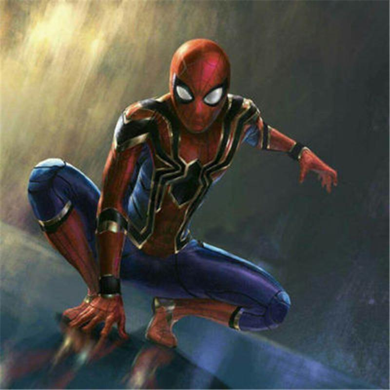 Spiderman Infinity War Full Suit