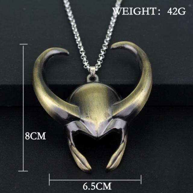 God Of Mischief Loki Necklace - magilook deep cleansing masks