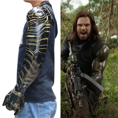 NEW Bucky Barnes Vibranium Arm - magilook deep cleansing masks