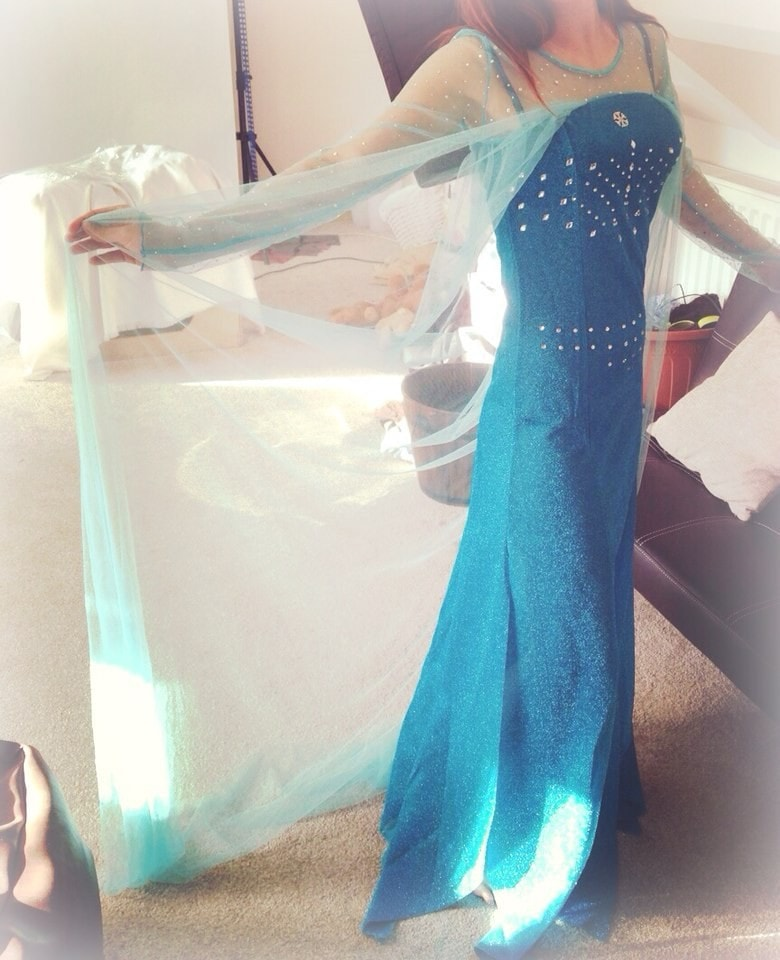 Frozen Elsa Snow Queen Princess Costume - Novelty Force
