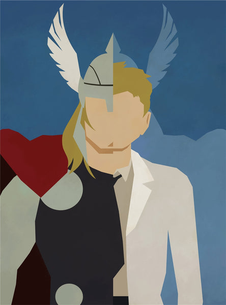 Thor Alter Ego Oil Canvas