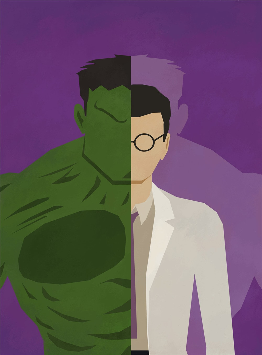 Hulk Alter Ego Oil Canvas