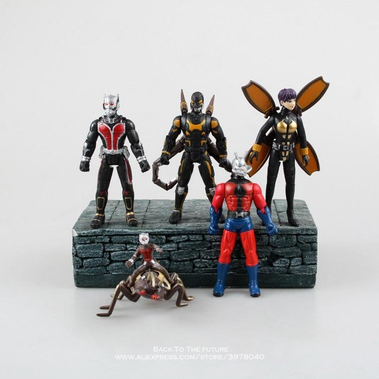Ant Man + The Wasp 5pcs Action Figurine Toy - magilook deep cleansing masks