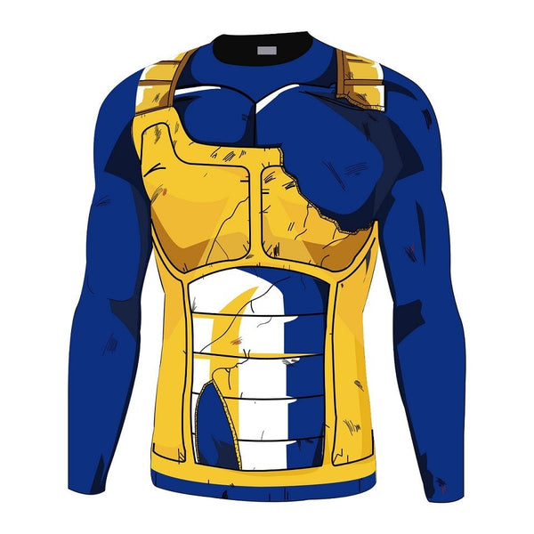Vegeta Gold Long Sleeve Battle Torn Armor