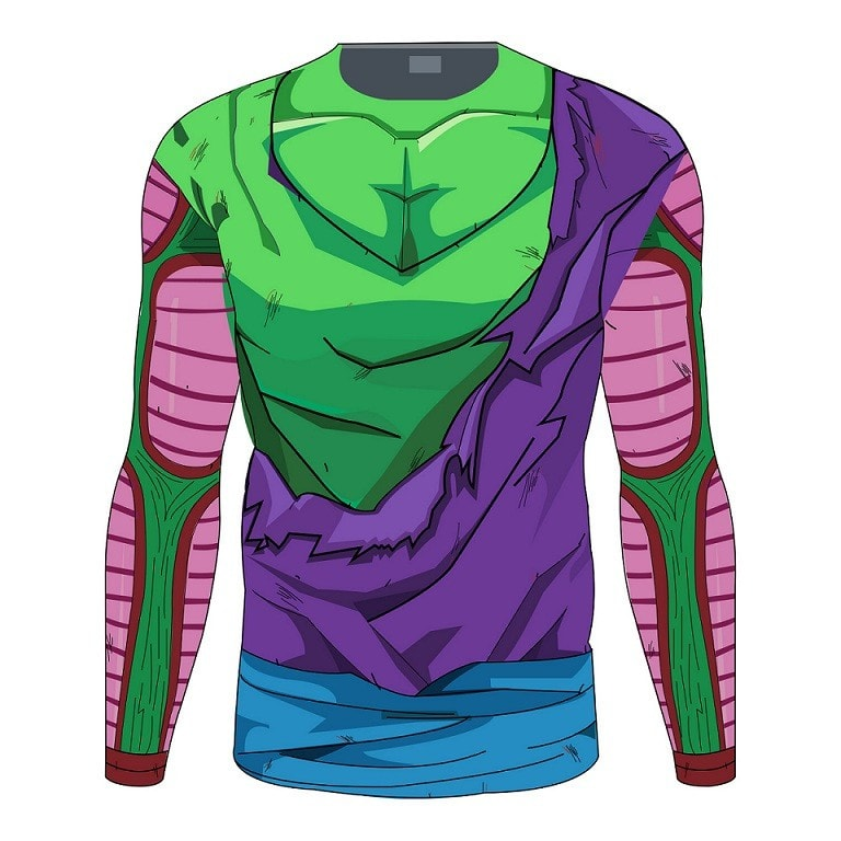 Piccolo Long Sleeve Battle Torn Armor - magilook deep cleansing masks