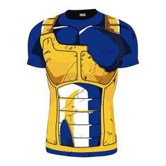 Vegeta Gold Battle Torn Armor