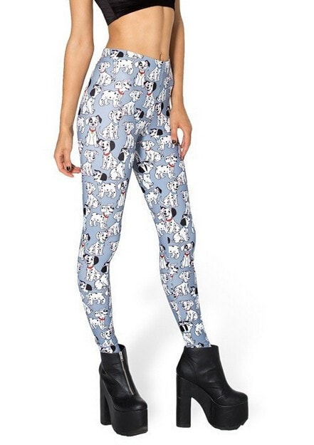 Dalmation Fitness Leggings - Novelty Force