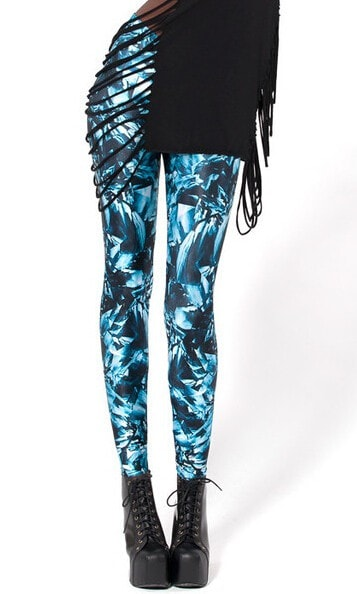 Geometric Crystal Fitness Leggings - Novelty Force