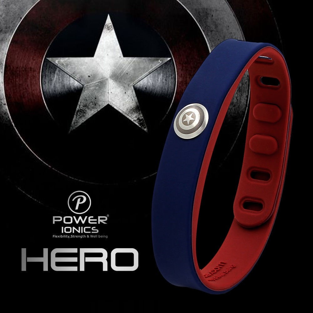 Captain America Power Ionics Wristband - Novelty Force