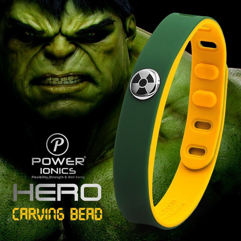 Hulk Power Ionics Wristband