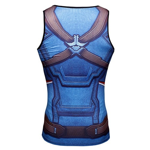 Captain America Compression Tank Top - magilook deep cleansing masks