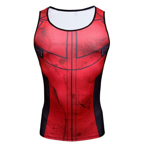 Deadpool Compression Tank Top - Novelty Force