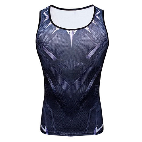 Black Panther Compression Tank Top