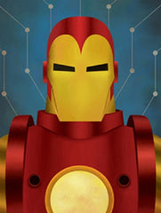 Iron Man Abstract Series Canvas