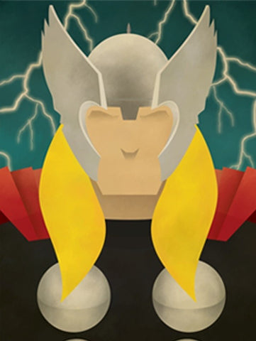 Thor Abstract Series Canvas