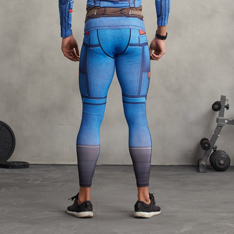 Captain America Leggings - Novelty Force