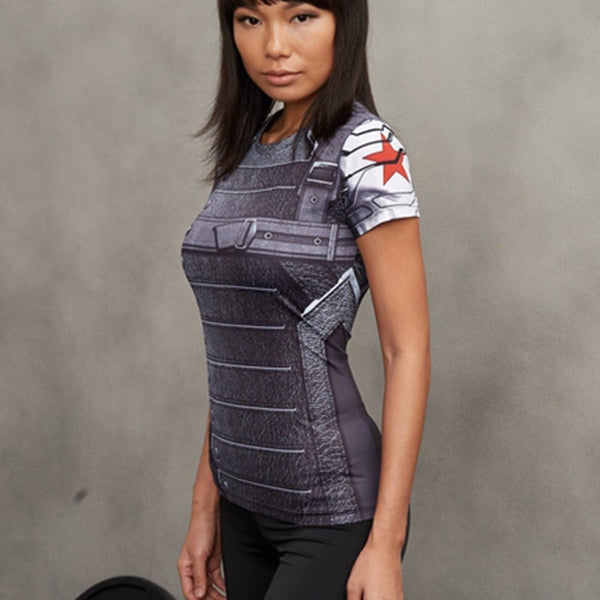 Ladies Winter Soldier Compression Shirt