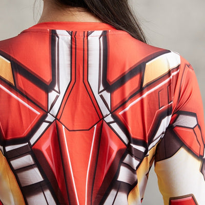 Ladies Iron Man Compression Shirt - magilook deep cleansing masks